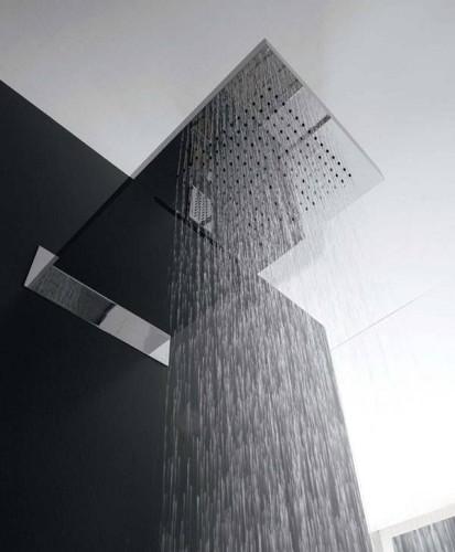 ראש מקלחת גשם ומפל תוצרת איטליה