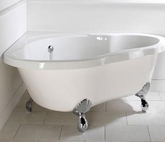 """אמבטיה מעוצבת תוצרת אנגליה מידות 137×135 ס""""מ"""