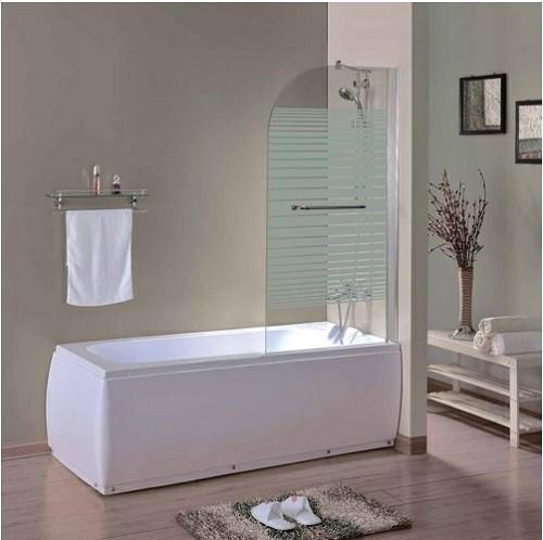 כנף חזית לאמבטיה דלת אחת על ציר דגם יופיטר