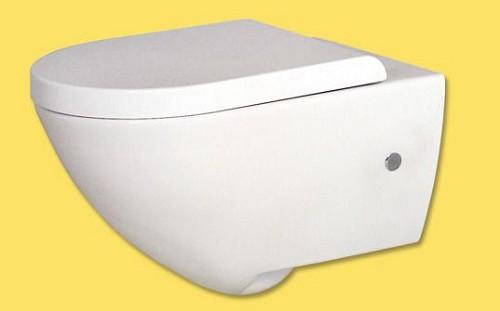 אסלה תלוי דגם טוליפ כולל מושב