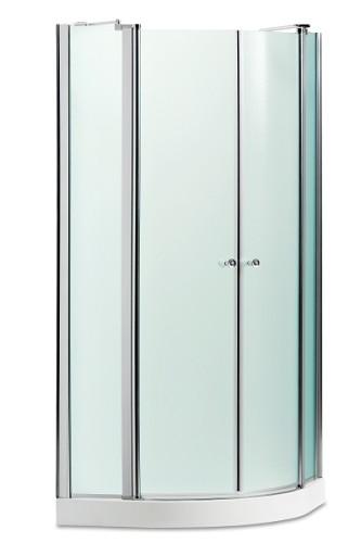 מקלחון פינתי מעוגל 80/90 דגם אורנית של חמת