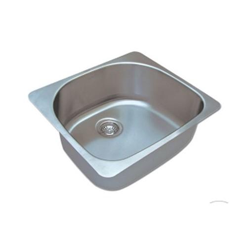 כיור מטבח מנירוסטה התקנה שטוחה או תחתונה – סיאטל PACIFIC