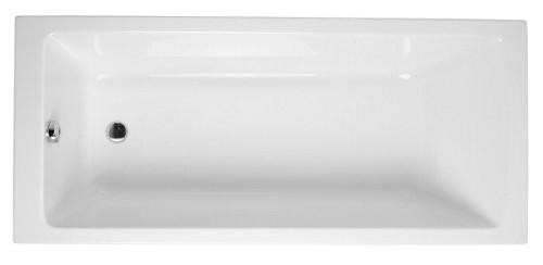 אמבטיה אקרילית מלבנית 160X75 לבן