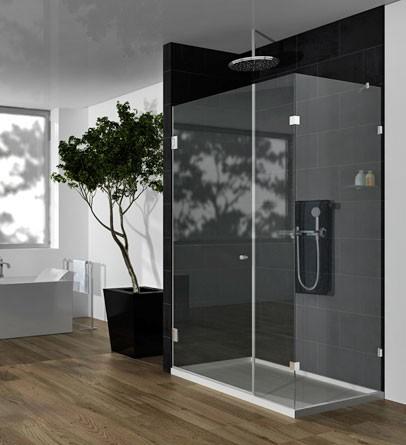 מקלחון פינתי מרובע 110 – דגם קוורץ 1DKF