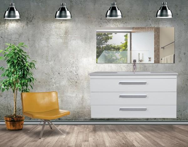 """ארון אמבטיה תלוי דגם רז – אפוקסי עם טריקה שקטה – 100 ס""""מ"""
