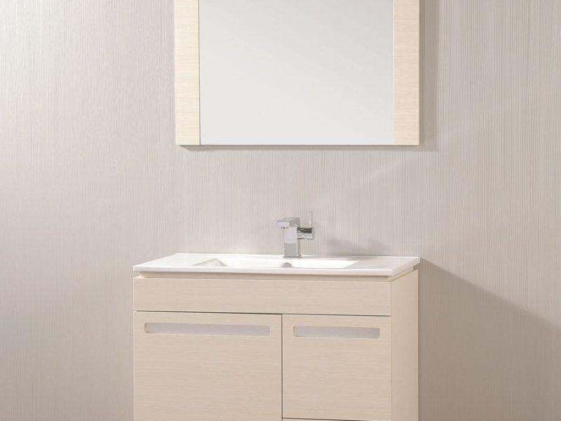 """ארון אמבטיה עומד פורמייקה דגם """"סופיה"""" 80 ס""""מ"""