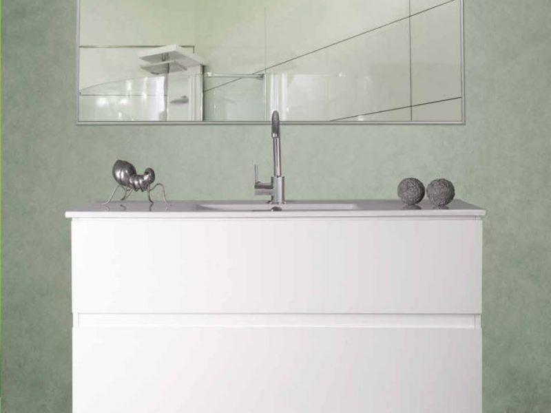 ארון אמבטיה דגם עופרי – אפוקסי שתי מגירות טריקה שקטה