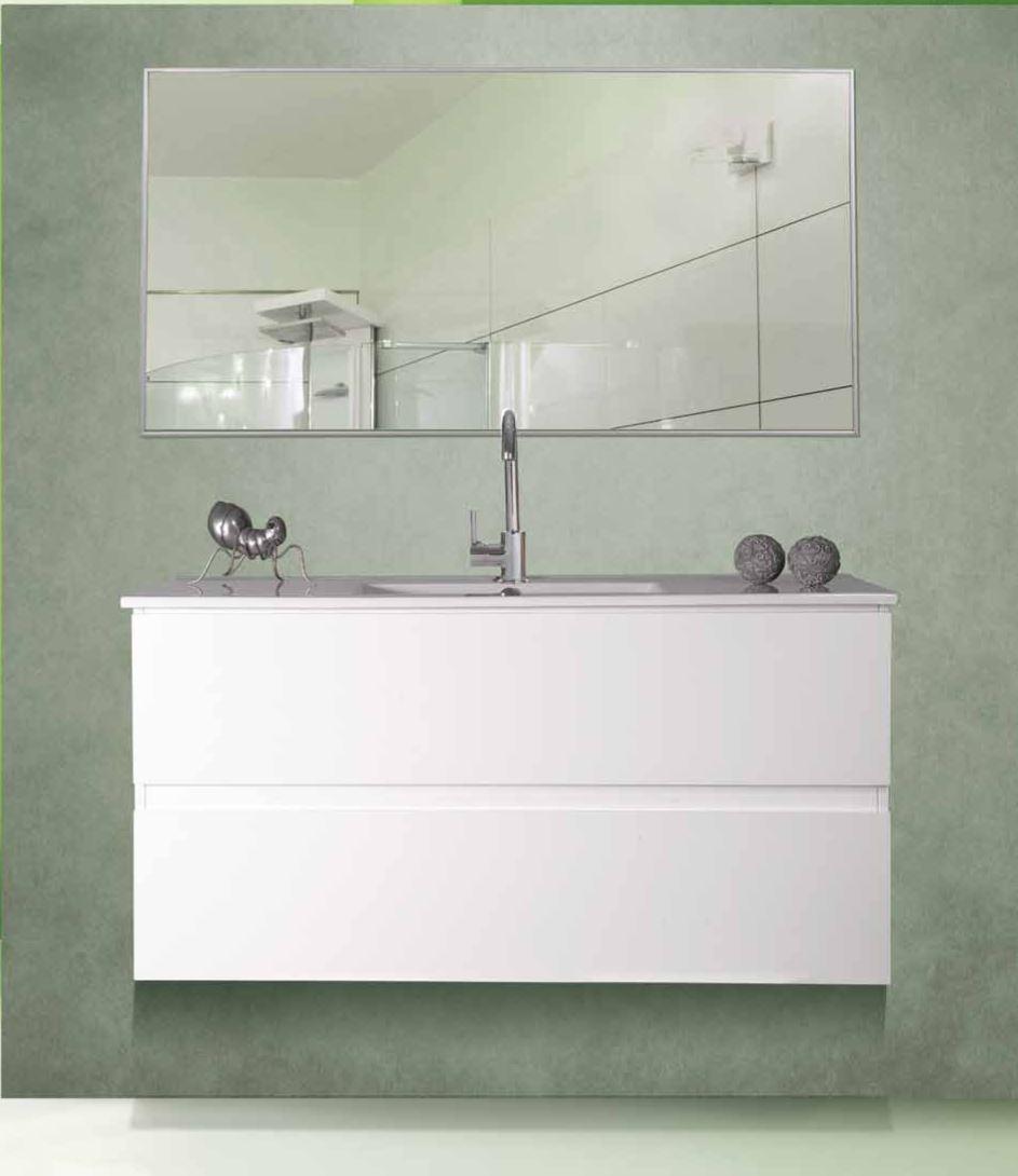 מדהים ארון אמבטיה דגם עופרי - אפוקסי שתי מגירות טריקה שקטה - סמרה JU-89