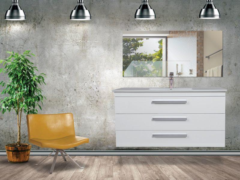 """ארון אמבטיה דגם רז – תלוי אפוקסי – 80 ס""""מ"""