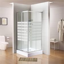 """מקלחון 80*80 פינתי שתי דלתות הזזה על ציר + 2 דפנות קבועות – זכוכית מחוסמת 6 מ""""מ – רק 690 ש""""ח כולל מע""""מ"""