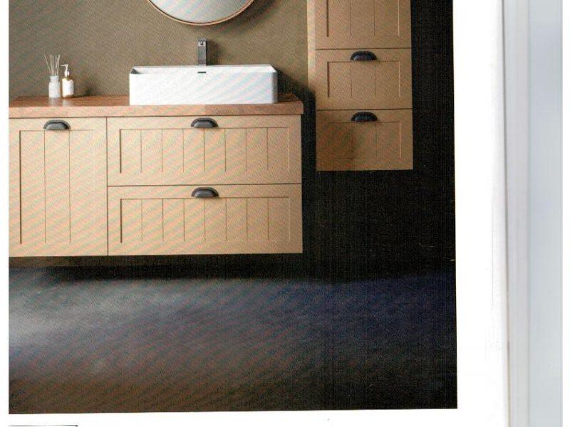 ארונות אמבטיה משולבים עם ארון שרות תואם